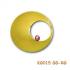 """Geboortehanger van goud """"baby in buik"""" KG015GG-RG"""
