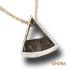 """Zilveren hanger """"Coconut twist"""" KH056"""
