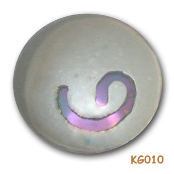 """Hanger """"Abstrakte foetus"""" van zilver. KG010"""