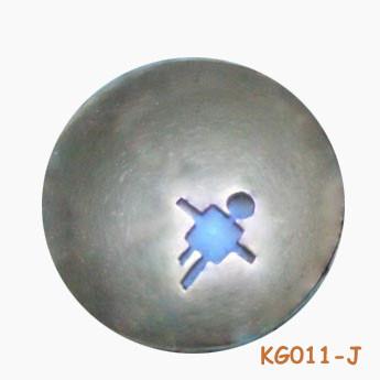 """Hanger van zilver """"Jongen"""" KG11-J"""