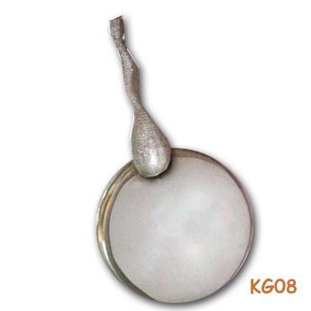 """Zilveren geboortehanger """"eindelijk uitgezwommen…"""" KG08"""