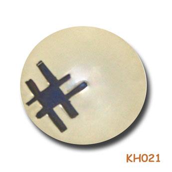 """Zilveren hanger """"Patchwork"""" KH021"""