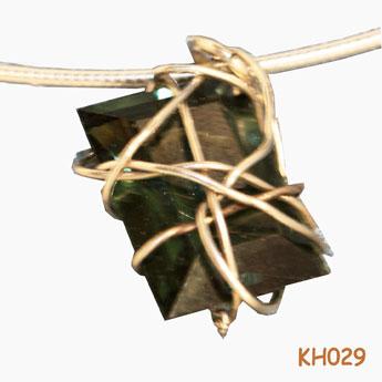 Schoonheid gevangen in draden van zilver KH029.