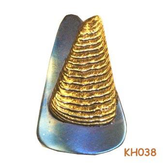 Unieke gouden hanger KH038