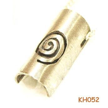 """Zilveren hanger """"Spiraal"""" KH052"""