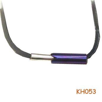 Duo penotti van zilver en titanium KH053