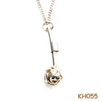 Hanger van zilver KH055