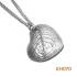 Hart van zilver. KH070