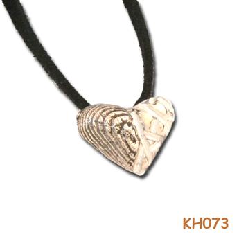 """Hanger """"zilveren duo hart"""" KH073"""