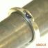 zilveren ring KR010