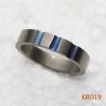 Titanium ring.