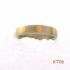 Titanium ring met goud. 12831