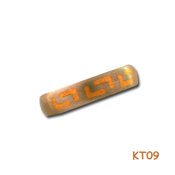 Titanium ring met goud 12837