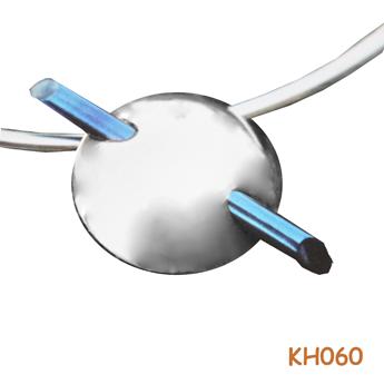 """Zilveren hanger """"needle"""" KH060"""