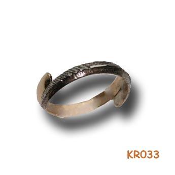 """Ring """"Halfje van dit Halfje van dat"""" KR033"""