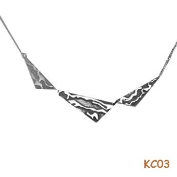 choker van zilver KC03