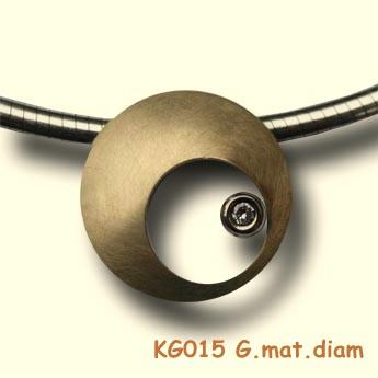Diamantje in mama's buik. KG015 G.gl diam.0.05