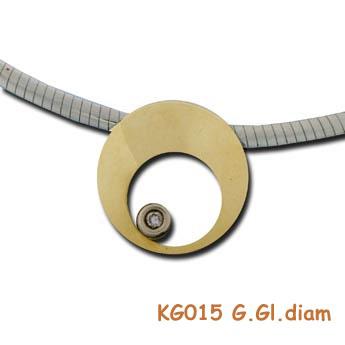 Een diamantje in goud om te koesteren KG015 G.gl