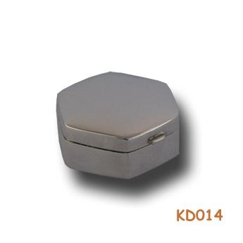 zilveren doosje 6-kant KD014
