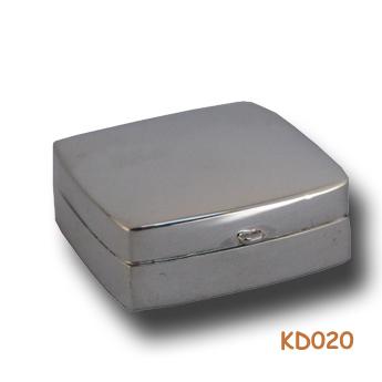 Zilveren doosje rechthoek KD020