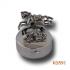 """Zilveren doosje """"Hobbelpaard"""" KD591"""