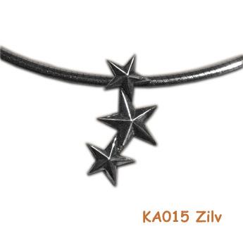 Zilveren sterren dicht bij mijn hart. KA015