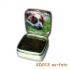 Zilveren herinneringsdoosje met as en een foto KD012